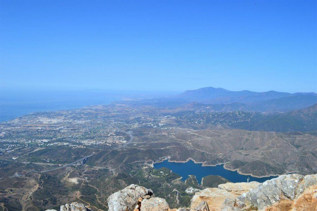 Vistas de Montaña la Concha situada en Marbella España
