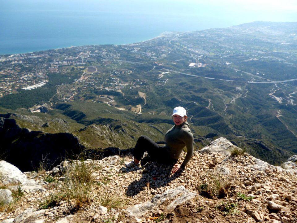 Turismo ruta a la montaña Concha Marbella España