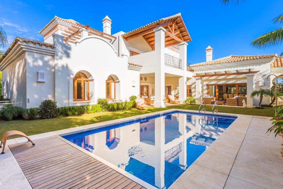 Casa de estilo andaluz en marbella